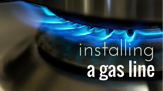 Installing a Gas Line